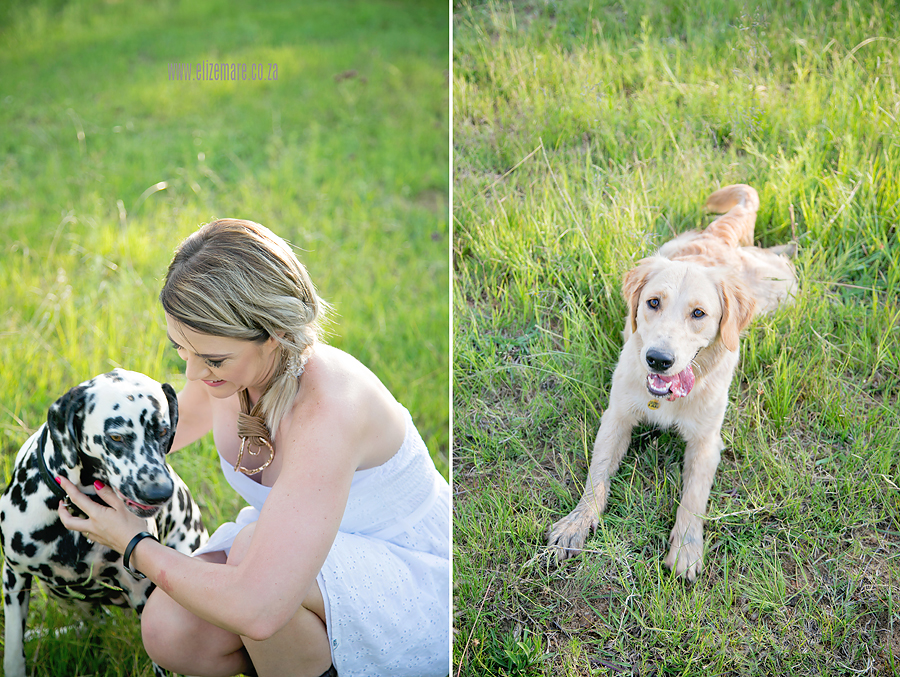 Elize Mare Photography-family shoot with four legged kids