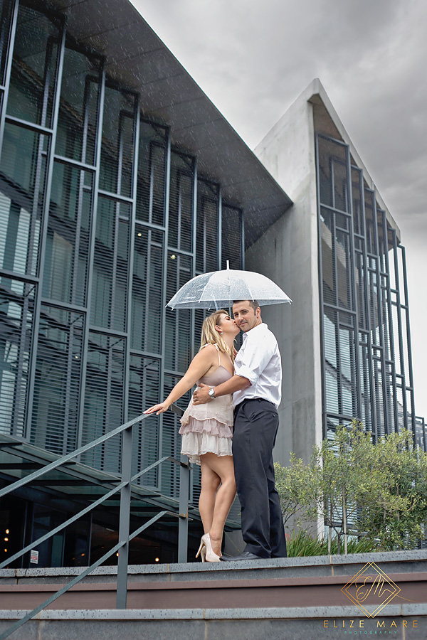Elize Mare Photography Rain Couple Shoot