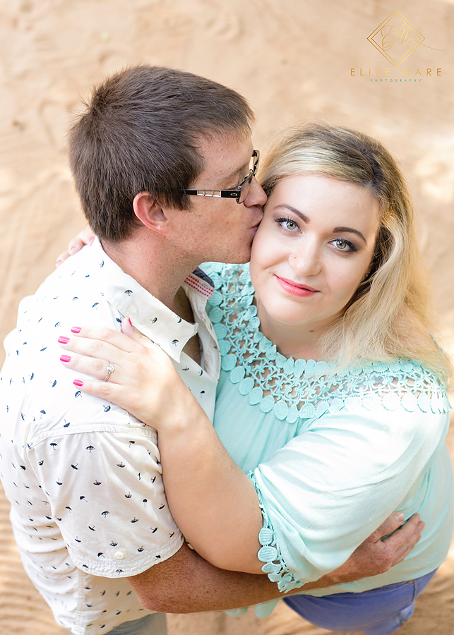 Elize Mare Photography beach engagement shoot