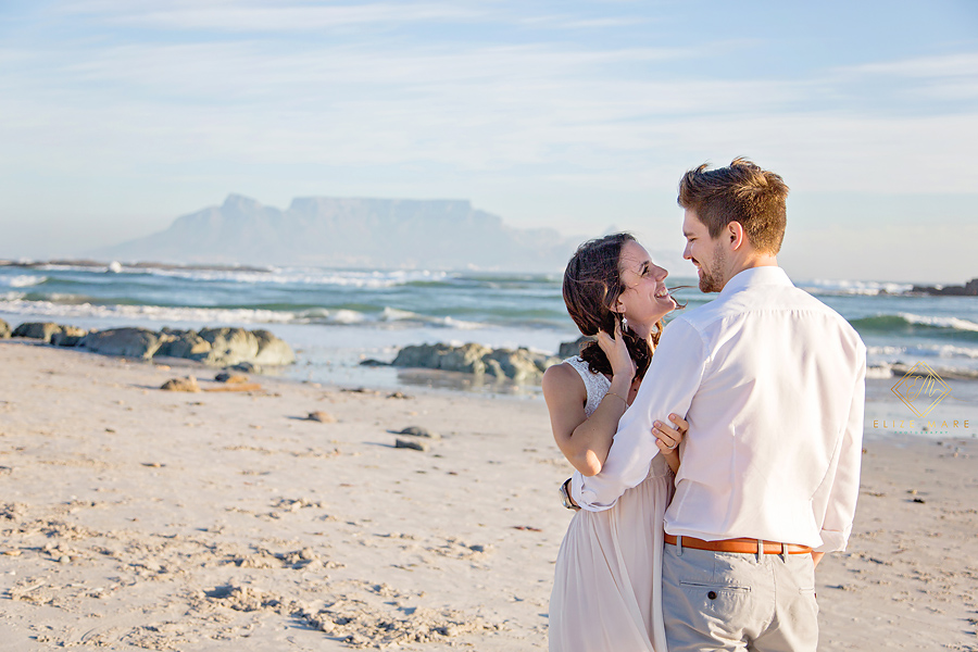 Elize Mare Photography Blaauweberg beach couple shoot