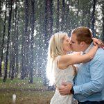 Elize Mare Photography Rainy engagement shoot
