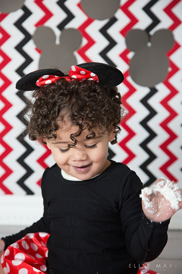 Elize Mare Photography 2nd Brithday Mickey Mouse Cake Smash