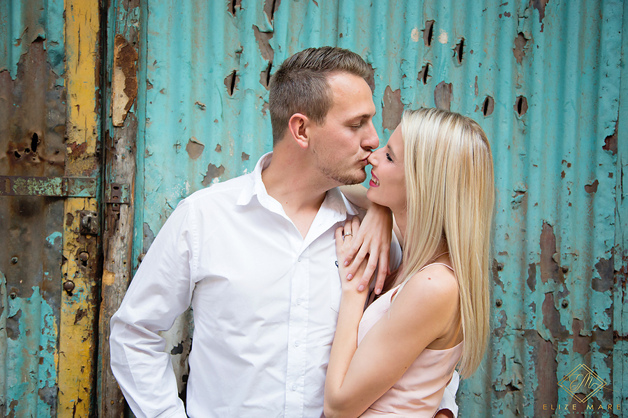 Elize Mare Photography Mad Giant Engagement Shoot at 1 Fox street