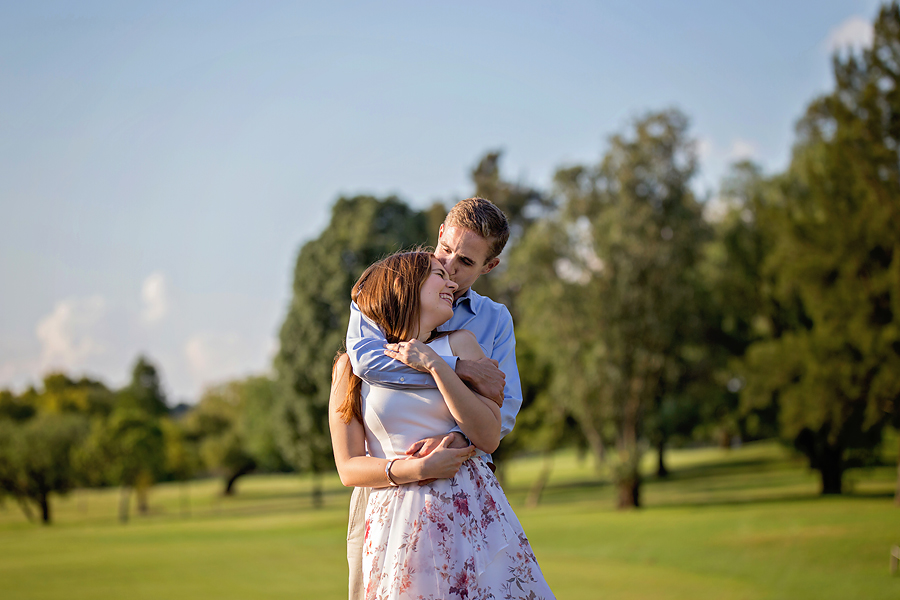 Elize Mare Photography Bryanston Golf Course Engagement