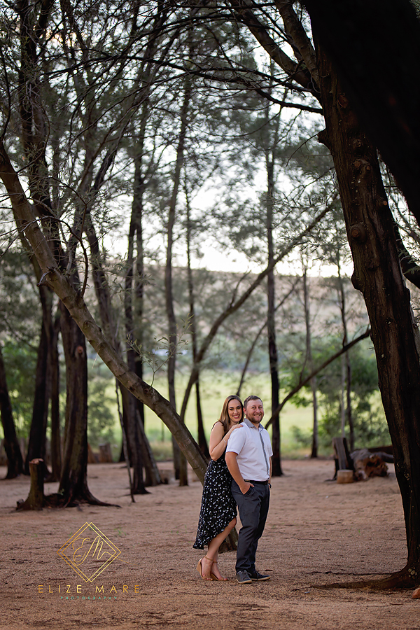 Elize Mare Photography Ground Engagement Shoot